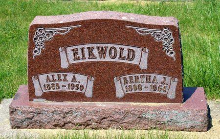 EIKWOLD, BERTHA J. - Palo Alto County, Iowa | BERTHA J. EIKWOLD