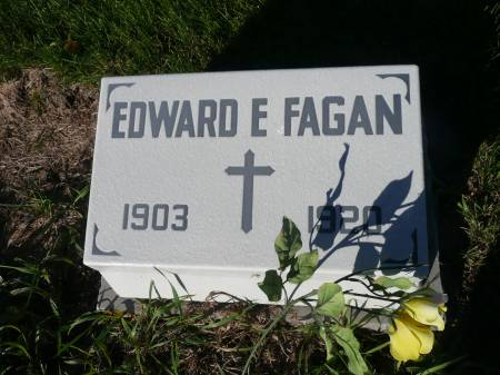 FAGAN, EDWARD E - Palo Alto County, Iowa | EDWARD E FAGAN