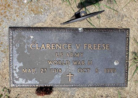 FREESE, CLARENCE V. - Palo Alto County, Iowa | CLARENCE V. FREESE