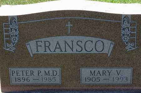 FRANSCO, MARY - Palo Alto County, Iowa | MARY FRANSCO