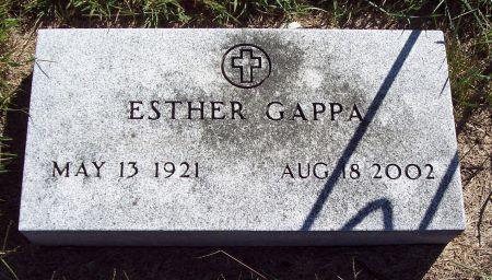 GAPPA, ESTHER IRENE - Palo Alto County, Iowa | ESTHER IRENE GAPPA