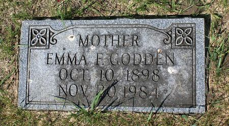 GODDEN, EMMA F. - Palo Alto County, Iowa   EMMA F. GODDEN