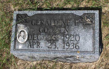 GODDEN, GERALDINE P. - Palo Alto County, Iowa | GERALDINE P. GODDEN