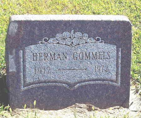 GOMMELS, HERMAN - Palo Alto County, Iowa | HERMAN GOMMELS