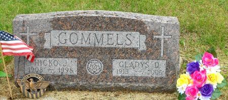 GOMMELS, HICKO J - Palo Alto County, Iowa | HICKO J GOMMELS