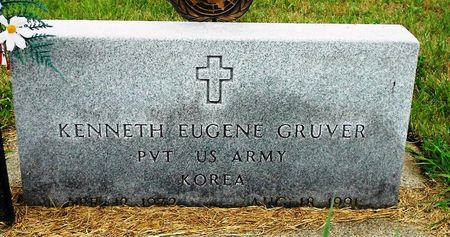 GRUVER, KENNETH EUGENE - Palo Alto County, Iowa   KENNETH EUGENE GRUVER