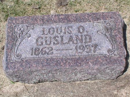 GUSLAND, LOUIS O - Palo Alto County, Iowa | LOUIS O GUSLAND