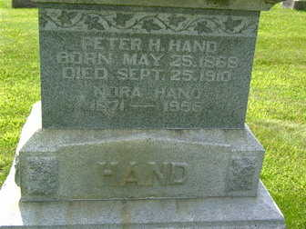 HAND, PETER H. - Palo Alto County, Iowa | PETER H. HAND