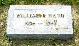 HAND, WILLAIM P. - Palo Alto County, Iowa | WILLAIM P. HAND