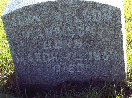 HARRISON, JOHN NELSON - Palo Alto County, Iowa | JOHN NELSON HARRISON