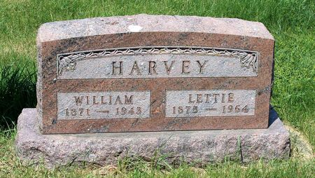 HARVEY, LETTIE - Palo Alto County, Iowa | LETTIE HARVEY