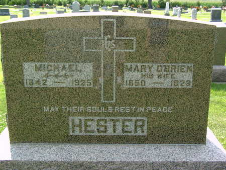 O'BRIEN HESTER, MARY - Palo Alto County, Iowa | MARY O'BRIEN HESTER
