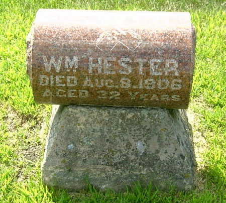 HESTER, WILLIAM - Palo Alto County, Iowa | WILLIAM HESTER