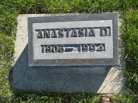 DONOVAN HIGGINS, ANASTASIA - Palo Alto County, Iowa | ANASTASIA DONOVAN HIGGINS