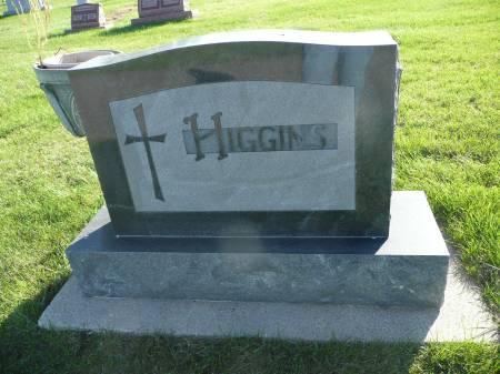 HIGGINS, FAMILY - Palo Alto County, Iowa   FAMILY HIGGINS