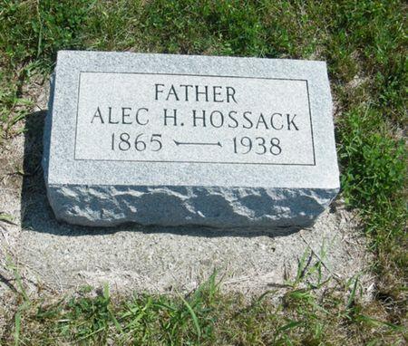 HOSSACK, ALEXANDER - Palo Alto County, Iowa | ALEXANDER HOSSACK