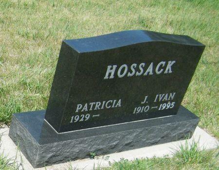 HOSSACK, (JAMES) IVAN - Palo Alto County, Iowa | (JAMES) IVAN HOSSACK