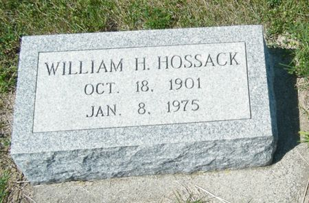 HOSSACK, WILLIAM H. - Palo Alto County, Iowa | WILLIAM H. HOSSACK