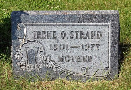STRAND, IRENE O - Palo Alto County, Iowa | IRENE O STRAND