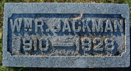JACKMAN, WM. R. - Palo Alto County, Iowa | WM. R. JACKMAN