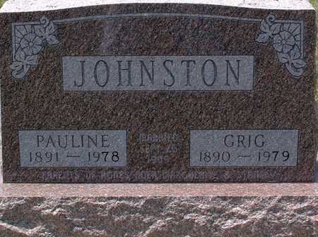 JOHNSTON, PAULINE - Palo Alto County, Iowa | PAULINE JOHNSTON