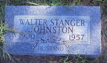 JOHNSTON, WALTER STANGER - Palo Alto County, Iowa   WALTER STANGER JOHNSTON