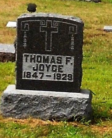 JOYCE, THOMAS F - Palo Alto County, Iowa | THOMAS F JOYCE