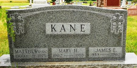 KANE, MARY HONORA - Palo Alto County, Iowa | MARY HONORA KANE