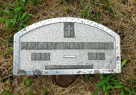 KANE, MARGARET MARY - Palo Alto County, Iowa | MARGARET MARY KANE