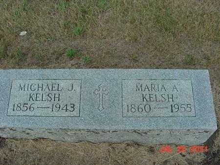KELSH, MICHAEL J & MARIA  (HIGGINS) - Palo Alto County, Iowa | MICHAEL J & MARIA  (HIGGINS) KELSH