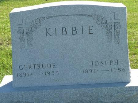 KIBBIE, GERTRUDE - Palo Alto County, Iowa   GERTRUDE KIBBIE