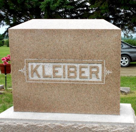 KLEIBER, FAMILY MEMORIAL - Palo Alto County, Iowa | FAMILY MEMORIAL KLEIBER
