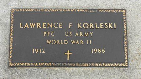 KORLESKI, LAWRENCE FRANCIS - Palo Alto County, Iowa | LAWRENCE FRANCIS KORLESKI