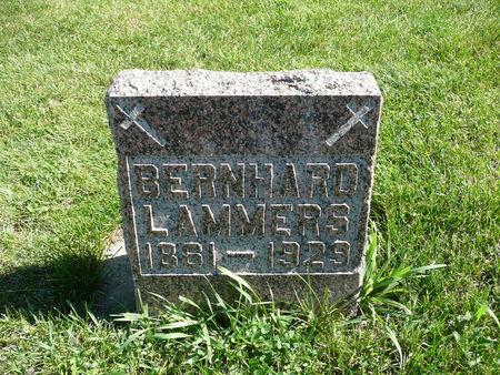 LAMMERS, BERNHARD - Palo Alto County, Iowa   BERNHARD LAMMERS