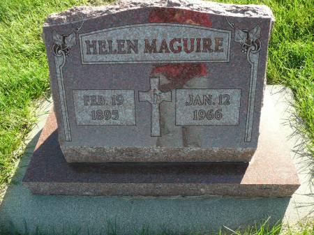 MAGUIRE, HELEN - Palo Alto County, Iowa | HELEN MAGUIRE