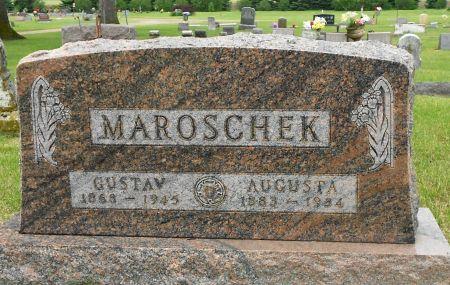 WOJAHN MAROSCHEK, AUGUSTA IDA - Palo Alto County, Iowa   AUGUSTA IDA WOJAHN MAROSCHEK