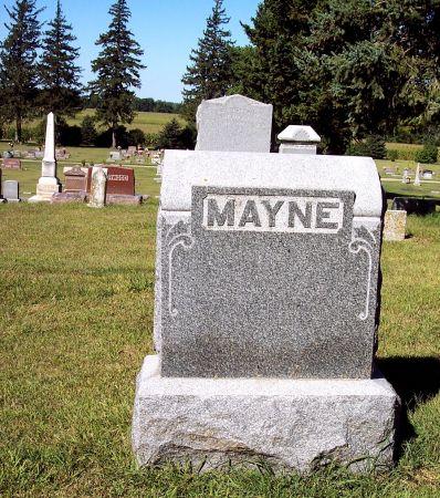 MAYNE, FAMILY MEMORIAL - Palo Alto County, Iowa | FAMILY MEMORIAL MAYNE