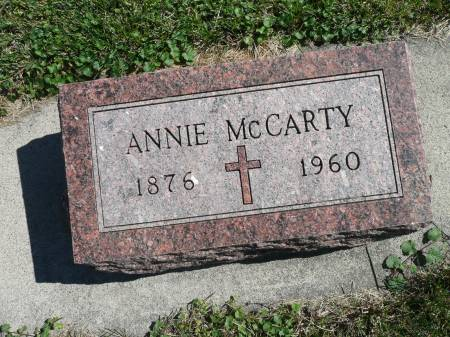 MCCARTY, ANNIE - Palo Alto County, Iowa | ANNIE MCCARTY