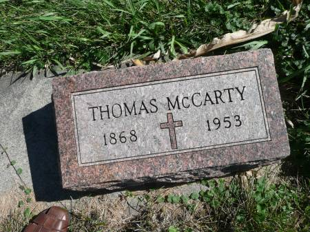 MCCARTY, THOMAS - Palo Alto County, Iowa | THOMAS MCCARTY
