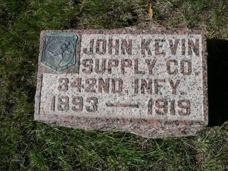 MCDONALD, JOHN KEVIN - Palo Alto County, Iowa | JOHN KEVIN MCDONALD