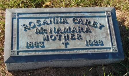 MCNAMARA, ROSANNA - Palo Alto County, Iowa | ROSANNA MCNAMARA