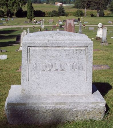 MIDDLETON, FAMILY MEMORIAL - Palo Alto County, Iowa | FAMILY MEMORIAL MIDDLETON