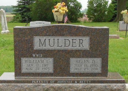 MULDER, WILLIAM LAWRENCE - Palo Alto County, Iowa | WILLIAM LAWRENCE MULDER
