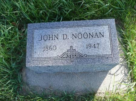 NOONAN, JOHN D - Palo Alto County, Iowa | JOHN D NOONAN