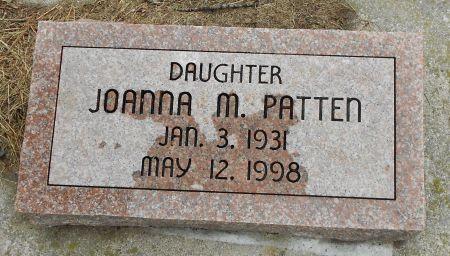 PATTEN, JOANNA M - Palo Alto County, Iowa | JOANNA M PATTEN