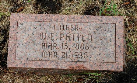 PATTEN, WARREN ELLSWORTH - Palo Alto County, Iowa | WARREN ELLSWORTH PATTEN