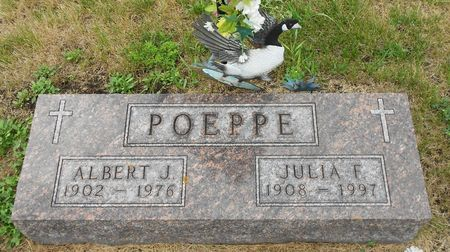 POEPPE, JULIA FLORINA - Palo Alto County, Iowa | JULIA FLORINA POEPPE