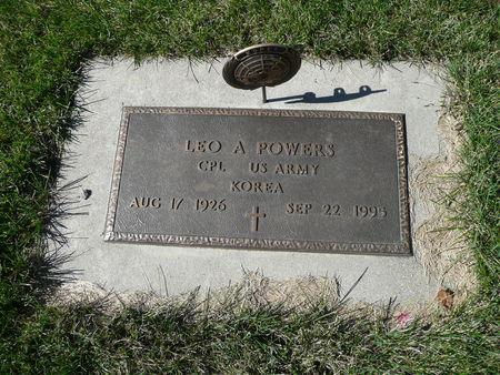 POWERS, LEO - Palo Alto County, Iowa   LEO POWERS