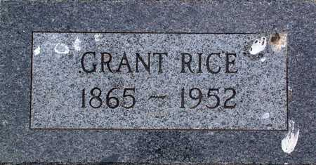 RICE, GRANT - Palo Alto County, Iowa | GRANT RICE