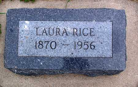 RICE, LAURA - Palo Alto County, Iowa | LAURA RICE